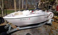 1999 Yamaha LS2000 Jet Boat Bowrider with 1999 Yamaha bunkTraler. Twin 135hp Yamaha two stroke engines Snap out carpet Bimini top full canvas am/fm/cd Standard horizon gps in floor storage swim step. Comes with Certificate of origin for the boat, last