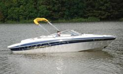 2006 Four Winns 210 Horizon edition Bowrider. This boat is in SHOWROOM condition, and shows to have been meticulously maintained. This boat has been lift kept its entire life. ONLY 260 HRS ! ! ! 54 MPH ! ! ! EXCEPTIONAL CONDITION ! ! ! Hull:overall