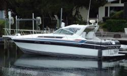 /..............Class PowerCategory Cruisers, Express CruiserYear 1987Make WellcraftLength 32'Propulsion Type Twin InboardHull Material FiberglassFuel Type Gas..................//////..........Electrical System12 Volt Ship Service30 Amp Shore Power with