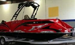 Whether you go wild or stay classic, with our many colors and options to choose from, there?s something for everyone.Its fiberglass Multi-Hull Cat-V has five lifting points, letting it glide across the water and can bank in a turn like a performance boat