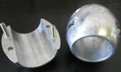 """X-5 - Shaft Anode 1 1/4"""" (ALL OTHER SIZES IN STOCK)Call 800-732-0988 http://www.zincsforboats.com/"""
