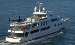 43.7M (143') Custom TriDeck Super Yacht w/HeliPad has the attributes of a yacht many times her size... She has gone through a complete (both engines, 3 gen-sets, etc., etc.) in 2008... She has an excellent income history as a charter yacht for the