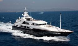 The Photo Shown Is A Sister-Ship Photo... This 54meter Custom TriDeck SuperYacht Is A Spectacular Display Of Striking Contemporary Splendor... Exterior Styling Creates A Curvaceous SuperStructure... The Large HullSide Windows In Tinted Glass Provide An