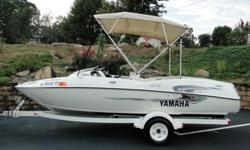08765rtygbhnjmkjhmv b..................TWIN 135HP 2-STROKESMATCHING TRAILERNEVER BEEN IN SALTLIKE NEW CONDITIONNEW BATTERY STEREO/CD FOR SALE I HAVE A REAL NICE YAMAHA JET BOAT. IT IS IN VERY NICE CONDITION. ALL ORIGINAL, SEATS AND BIMINI TOP ARE PERFECT.