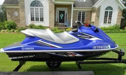 '''..2011 YAMAHAVXR WAVERUNNERONLY 34 ORIGINAL HOURSNO RESERVE !~!ONLY ADULT DRIVEN AND ALWAYS STORED INSIDETHIS SKI HAS A 180HP 4-STROKE YAMAHAENGINE WITH A TOP SPEED OF 70 MPHTHIS IS A LARGE AND STABLE 3-SEATER A REAR BOARDING LADDER &