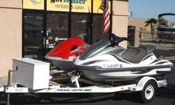 Yamaha WaveRunners - FX140 and VX110 Deluxe with Trailer$10,900http://www.gotwaterrentals.com/Consignment_Yamaha_WaveRunner_2002_FX140_VX110_Deluxe.htmlThe Yamaha WaveRunner FX140 is a revolutionary watercraft with sleek flowing lines and a
